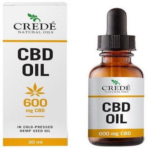 CBD Oil 600mg 30ml - Crede