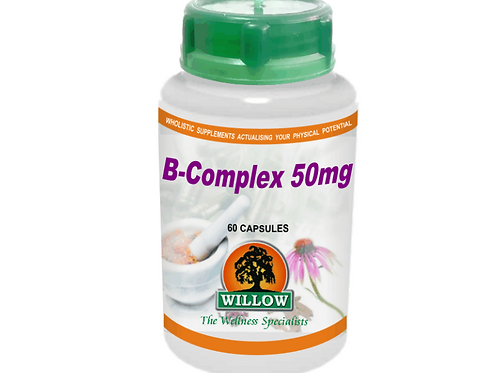 B-Complex 50mg Capsules - Willow