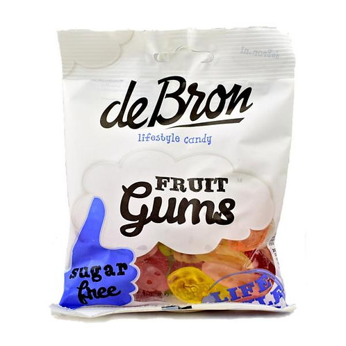 Sugarfree Fruit Gums - De Bron