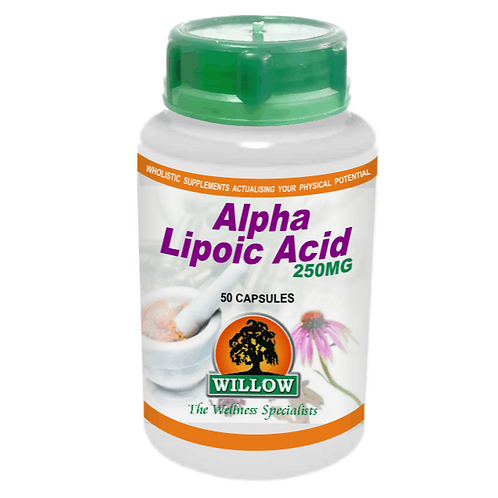 Alpha Lipoic Acid Capsules - Willow