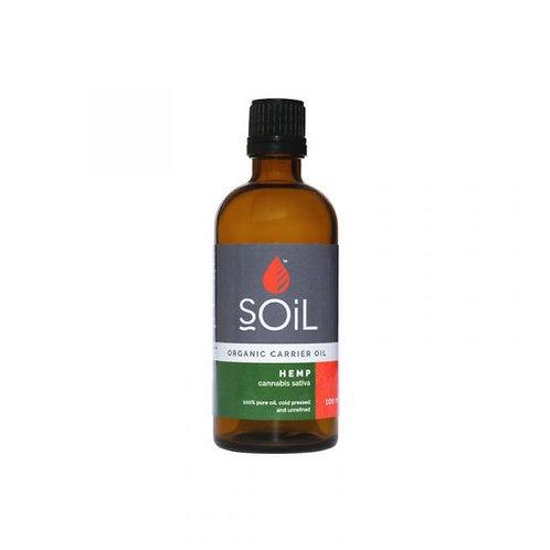 Organic Hemp Oil 100ml - Soil