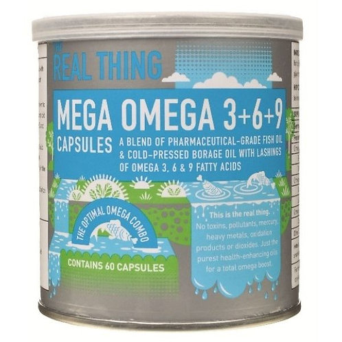 Mega Omega 3+6+9 Capsules - The Real Thing