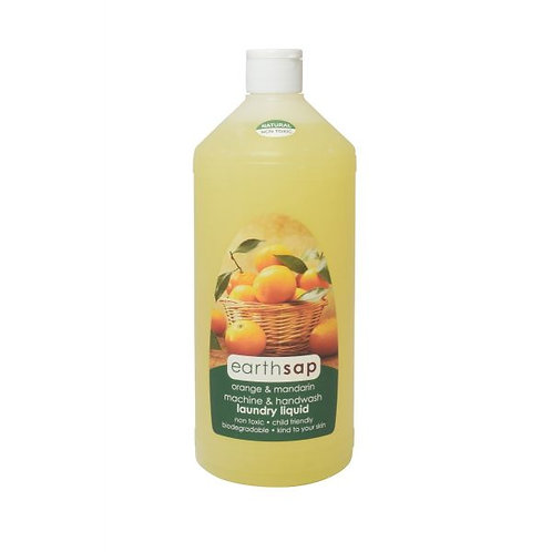 Orange & Mandarin Laundry Liquid - Earth Sap