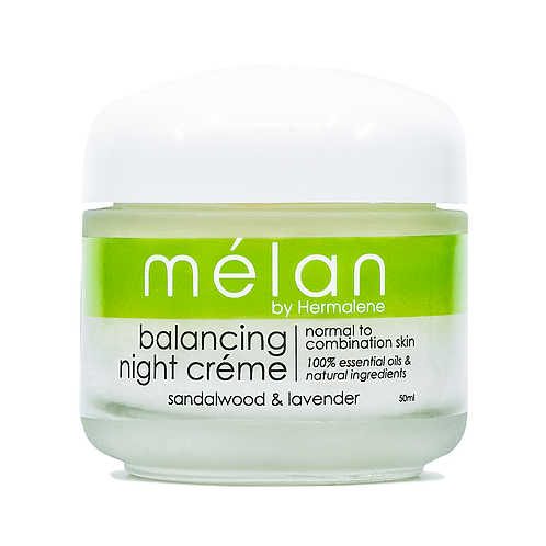 Sandalwood & Lavender Balancing Night Cream 50ml - Melan