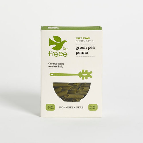 Organic Green Pea Penne 250g - Freee by Doves Farm