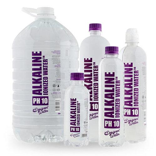 Alkaline Ionized Water - Designer Water