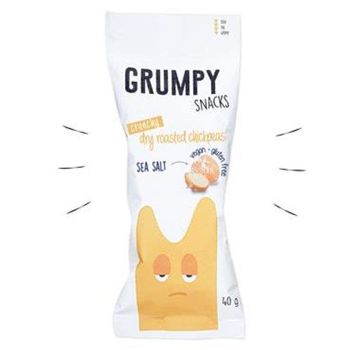 Sea Salt Chickpeas -  Grumpy Snacks