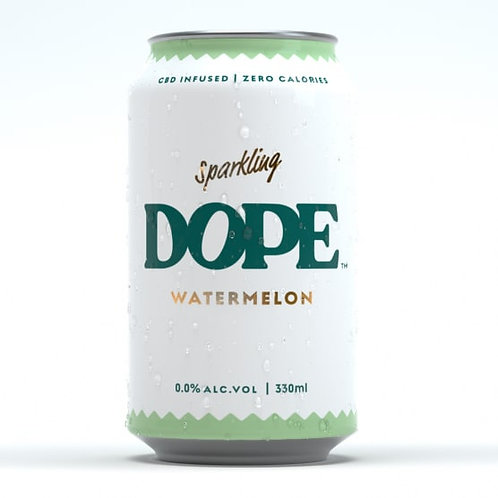 Sparkling CBD infused flavoured Water 330ml - Dope