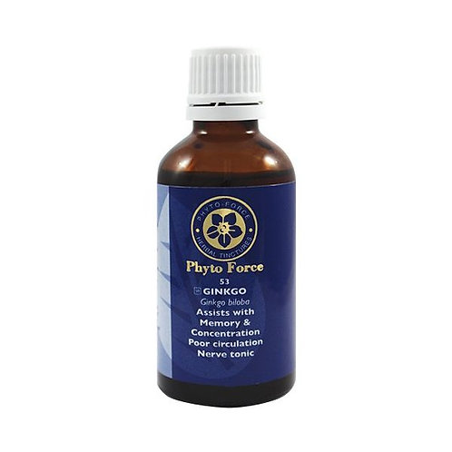 Ginkgo Tincture 50ml - Phyto Force