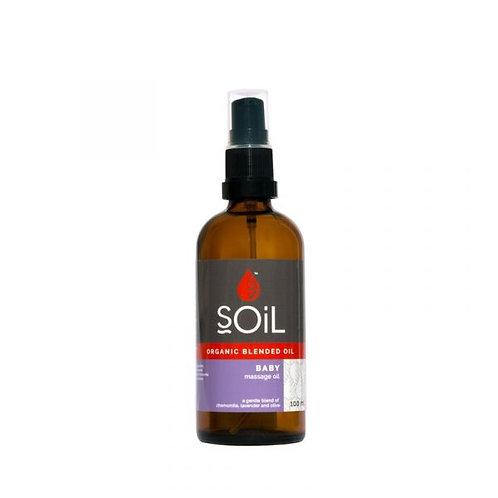 Organic Baby Oil 100ml - Soil