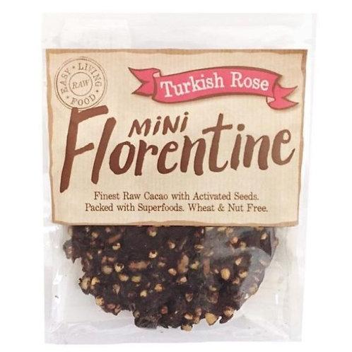 Turkish Rose Mini Florentine Biscuit - Earthshine