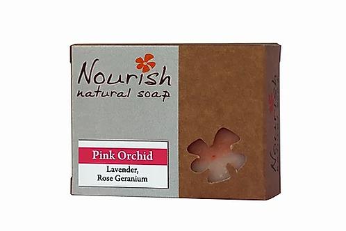 Pink Orchid Soap - Nourish Natural Soap