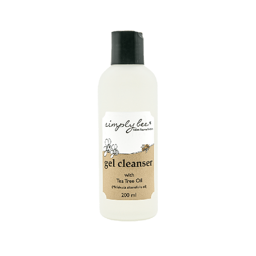 Facial Gel Cleanser with Tea Tree Oil - Simply Bee