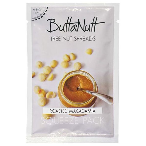 Roasted Macadamia Squeeze Pack - Buttanutt