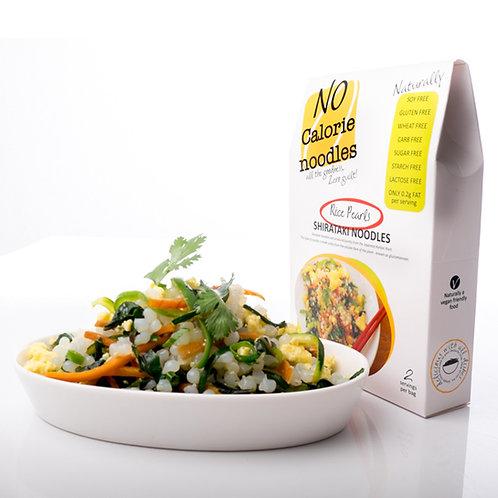 Shirataki Rice Pearls - No Calorie Noodles