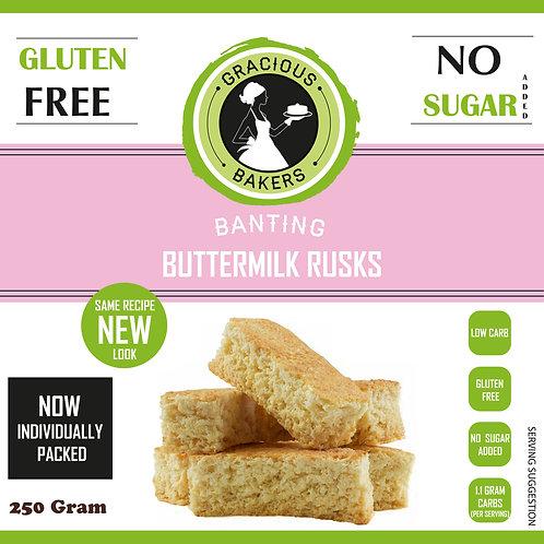 Banting Buttermilk Rusks - Gracious Bakers