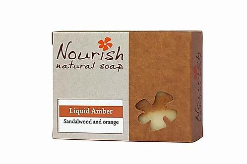Liquid Amber Soap - Nourish Natural Soap