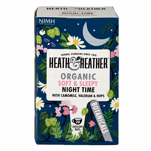 Organic Night Time Tea - Heath & Heather