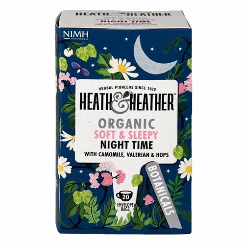 Organic Night Time Tea - Heath & Heather