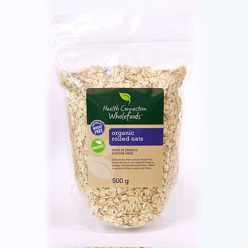 Organic Rolled Oats 500g - Health Connection