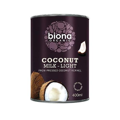 Organic Light Coconut Milk - Biona
