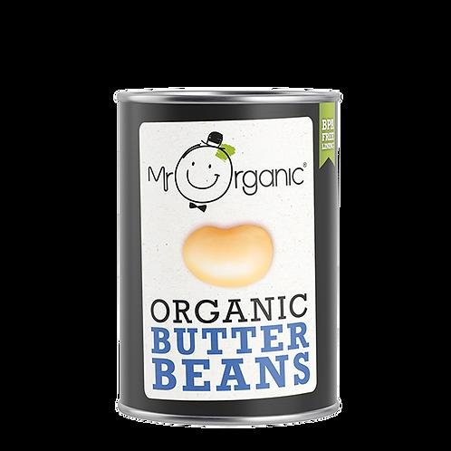 Organic Butter Beans - Mr Organic