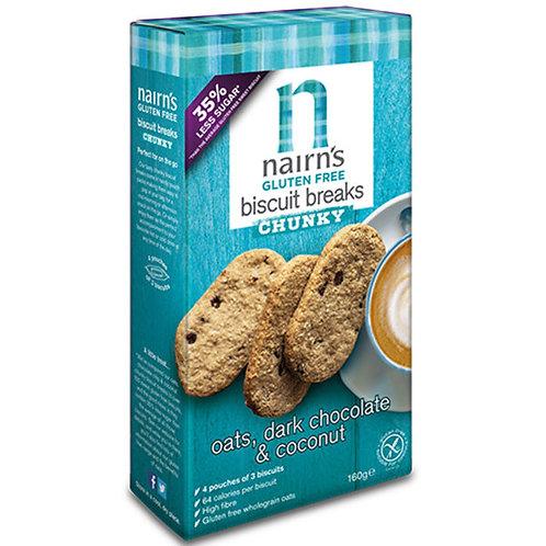 Gluten Free Coconut Biscuits Breaks - Nairns