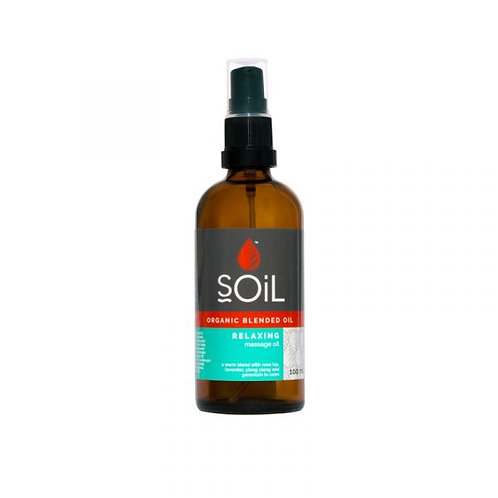 Organic Relaxing Oil 100ml - Soil