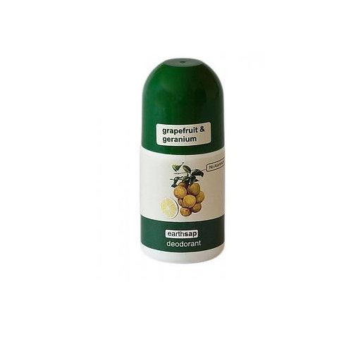 Grapefruit & Geranium Roll On Deodorant - Earth Sap