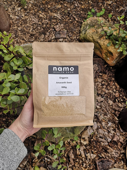 Organic Amaranth Seeds - Namo Health