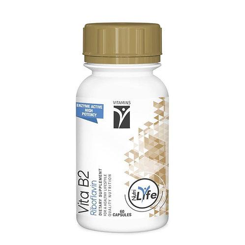 Vitamin B2 Capsules - Nutri Life