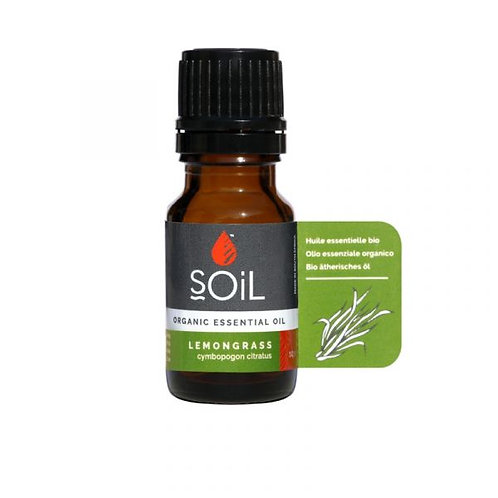 Organic Lemongrass Essential Oil - Soil