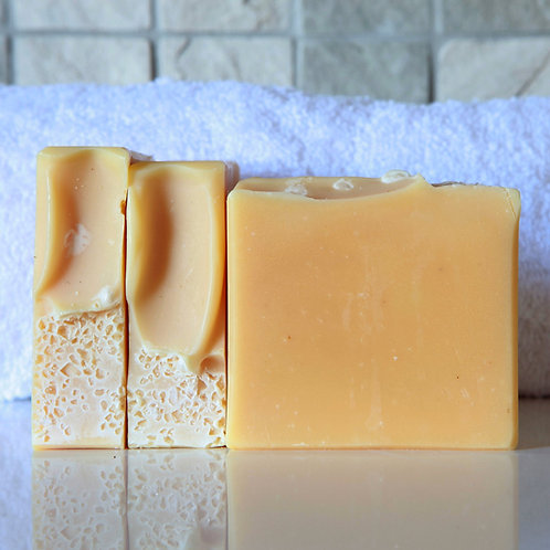 Lemon & Cream Turmeric Soap - Ananse Naturals