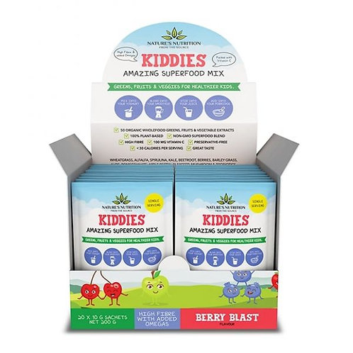 Berry Blast Kiddies Superfood Mix Sachets - Nature's Nutrition