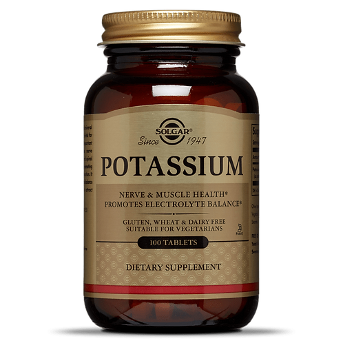 Potassium 100 Tablets - Solgar