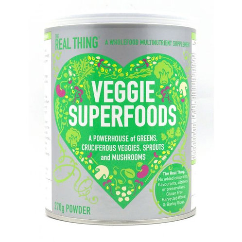 Veggie Superfoods - The Real Thing