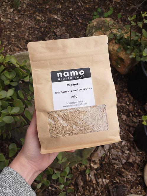 Organic Long Grain Basmati Brown Rice - Namo Health