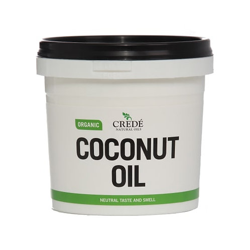 Organic Refined Coconut Oil (Neutral Taste & Smell) - Crede