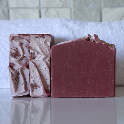 Merlot Salt Bar Soap - Ananse Naturals