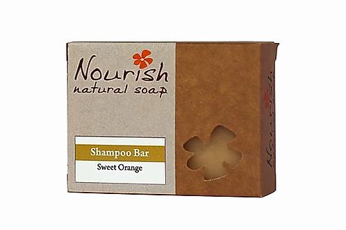 Shampoo Bar Sweet Orange - Nourish Natural Soap