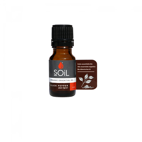 Black Pepper Essential Oil 10ml - Soil