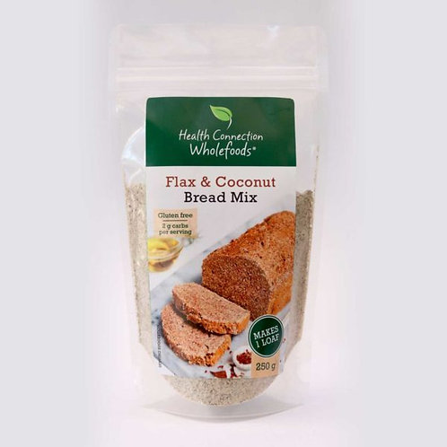 Flax & Coconut Bread Mix 250g - Health Connection