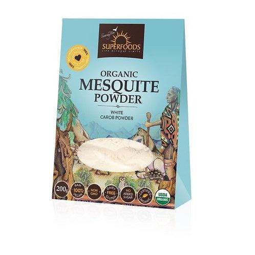 Organic Mesquite (White Carob) Powder 200g - Soaring Free Superfoods