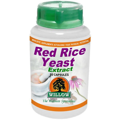 Red Rice Yeast Extract Capsules - Willow