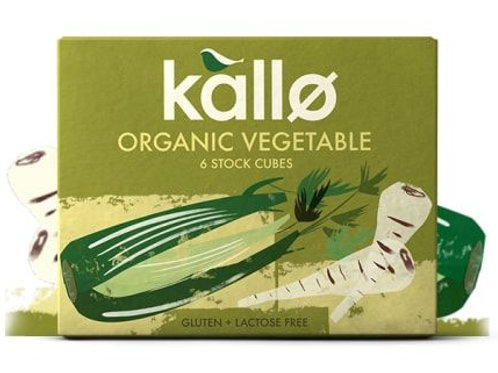 Organic Vegetable Stock Cubes - Kallo