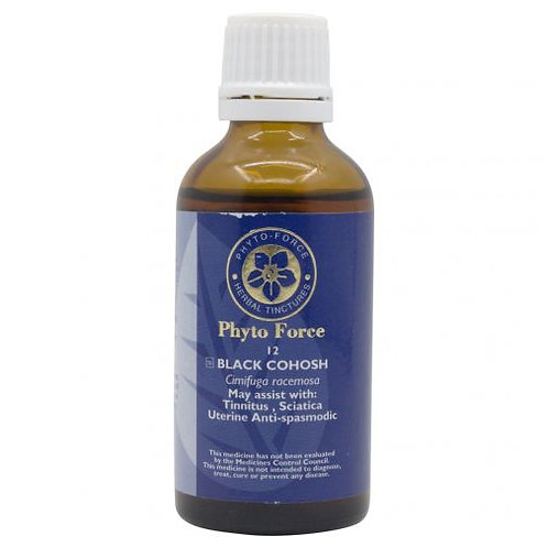 Black Cohosh Tincture - Phyto Force