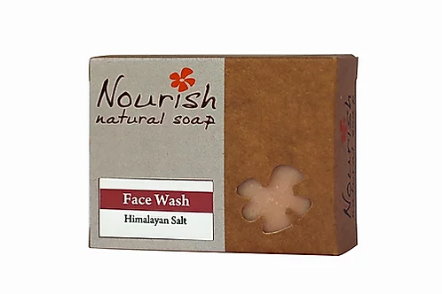 Face Wash Himalayan Salt - Nourish Natural Soap