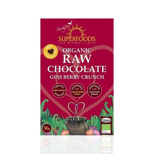 Organic Goji Berry Chocolate - Soaring Free Superfoods