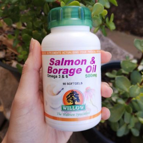 Omega 3 & 6 Softgels - Willow