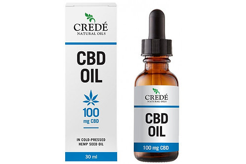 CBD Oil 100mg 30ml - Crede